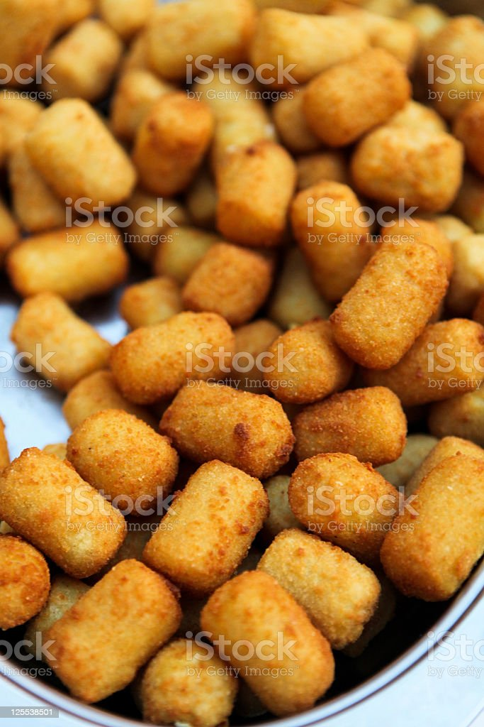 Croquettes stock photo