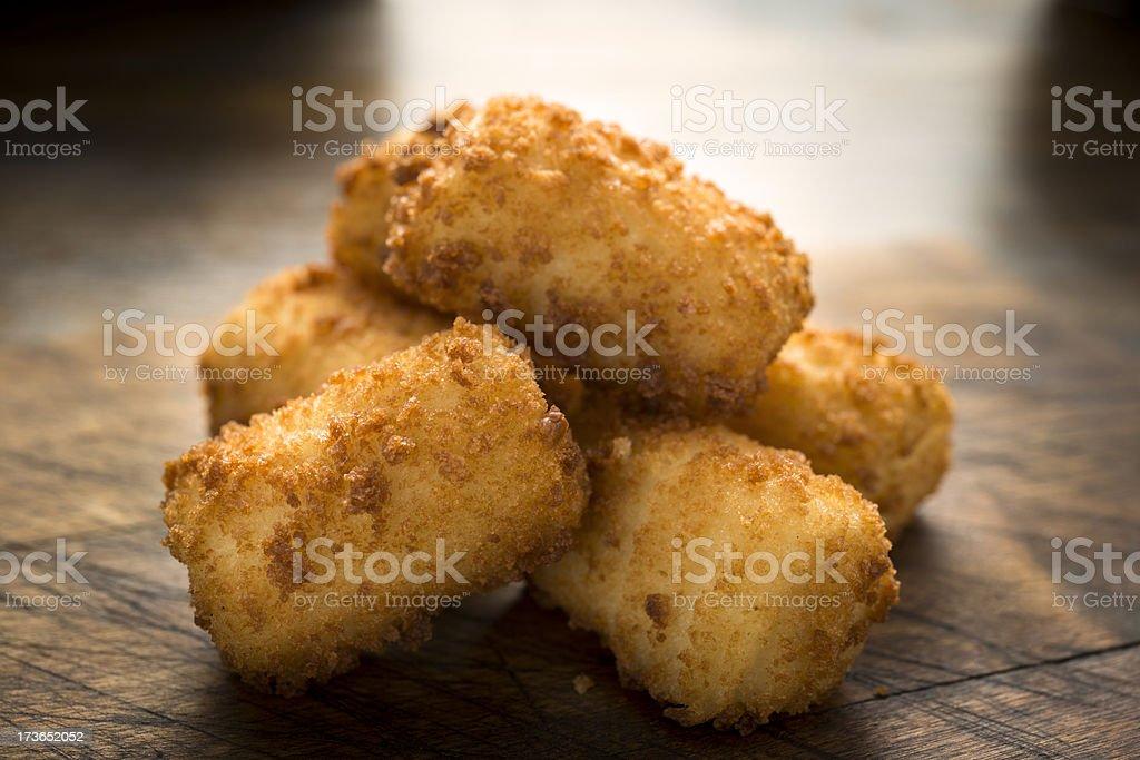 Croquettes Potatoes stock photo