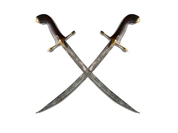 cross antique sword stock photo