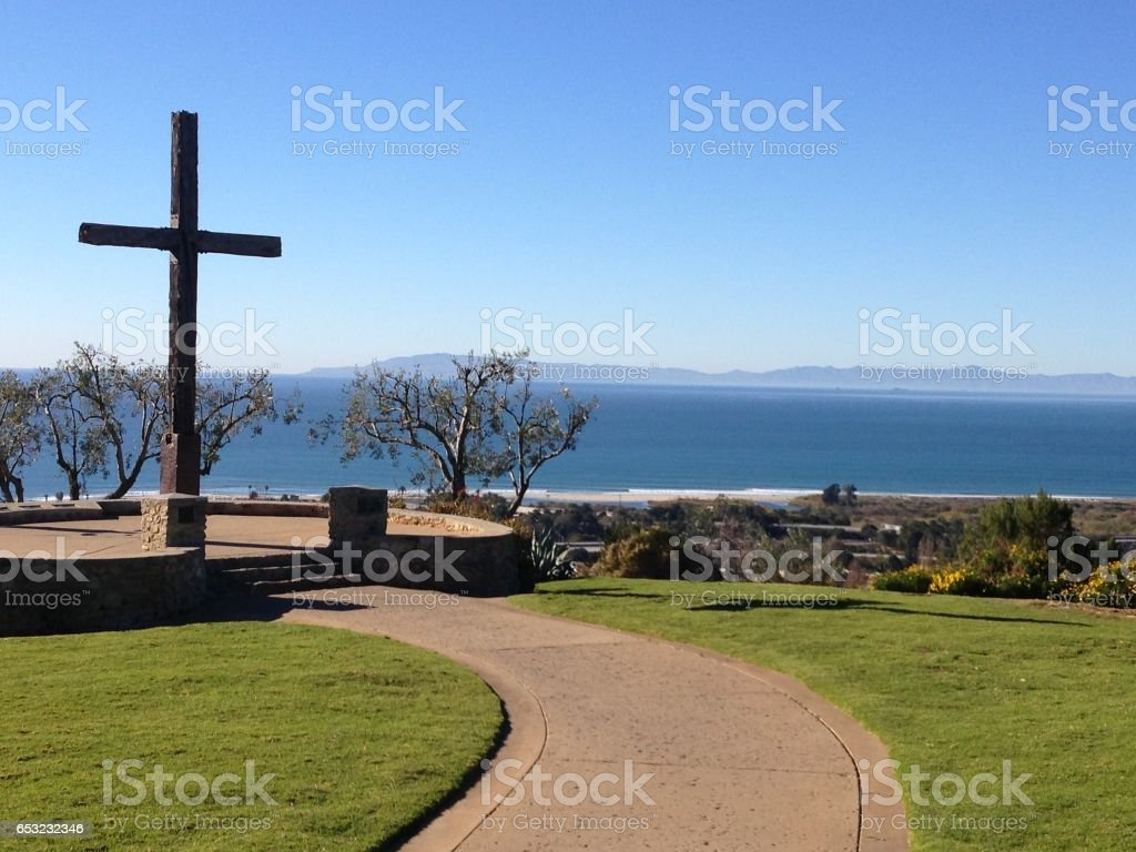 Cross at grant park ventura ca stock photo more pictures of cross at grant park ventura ca royalty free stock photo biocorpaavc