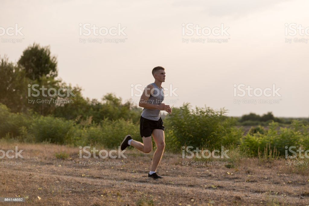 Cross coountry racer royalty-free stock photo
