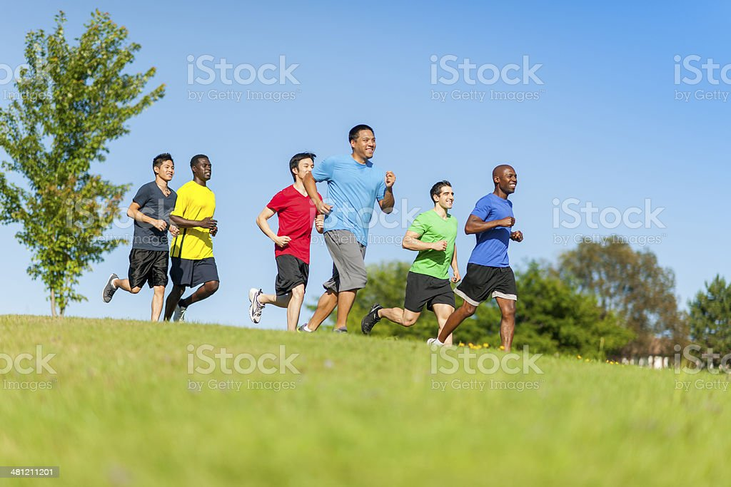 Cross Counrty royalty-free stock photo