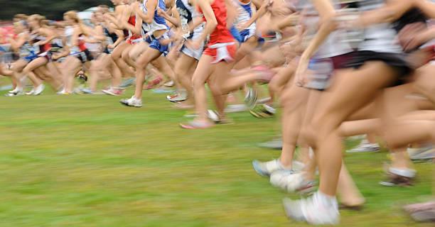 país de raza cruzada - trail running fotografías e imágenes de stock