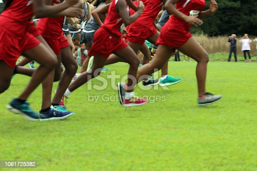 976685710istockphoto Cross Country Runners Running outdoors 1061725382