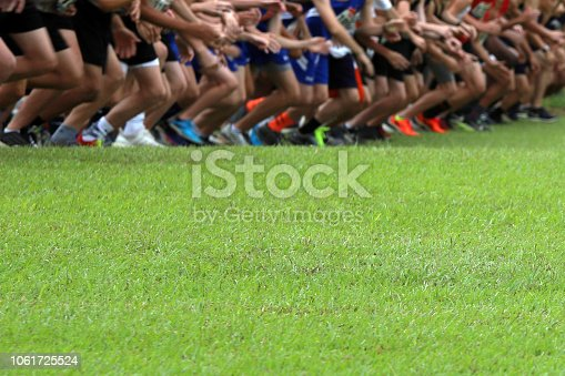 976685710istockphoto Cross Country Runners Running outdoors 1061725524