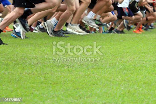 976685710istockphoto Cross Country Runners Running outdoors 1061725532