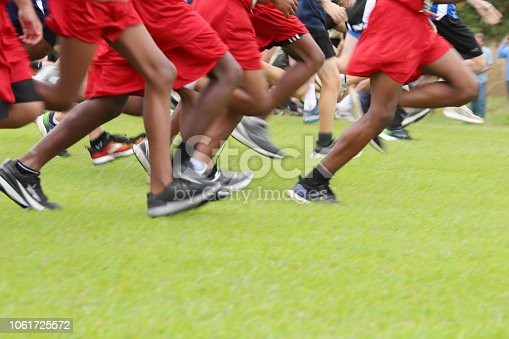 976685710istockphoto Cross Country Runners Running outdoors 1061725572