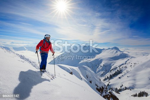 Mountain Climbing, Climbing, Skiing, Ski, Saalbach, Hinterglemm