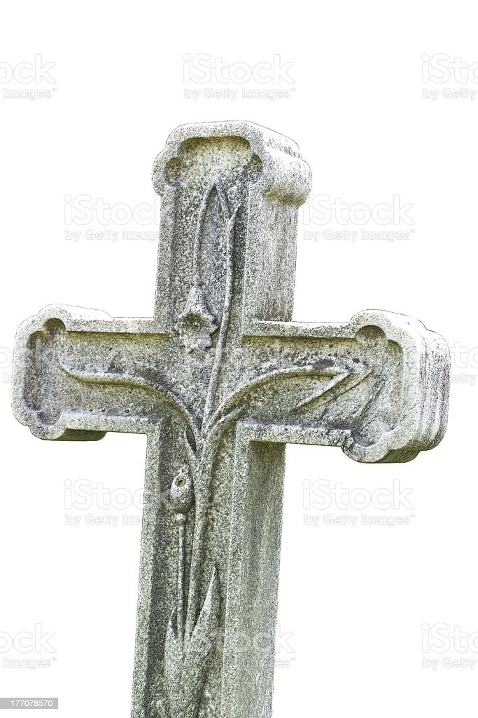 Cross decoration royalty-free stock photo