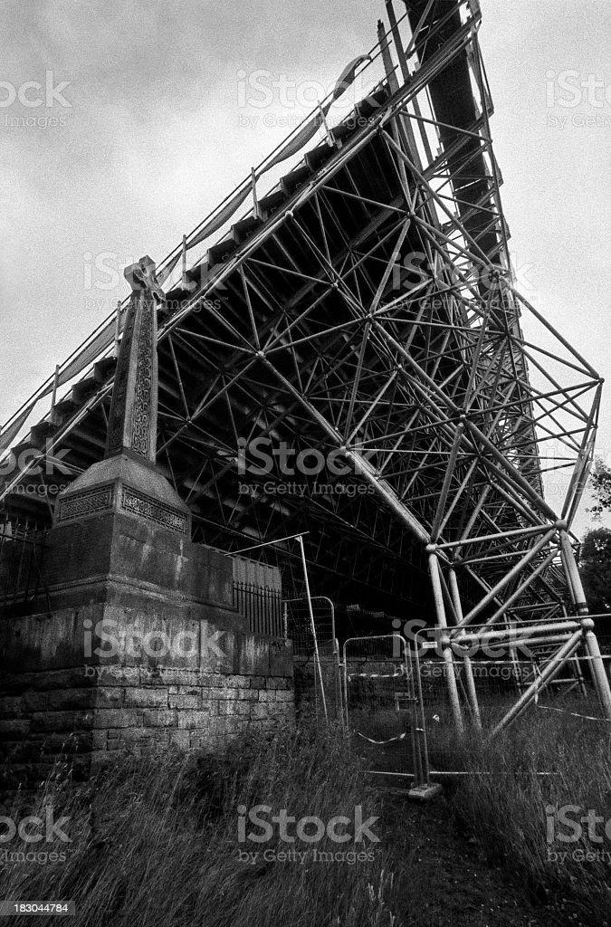 Cross, Edinburgh royalty-free stock photo