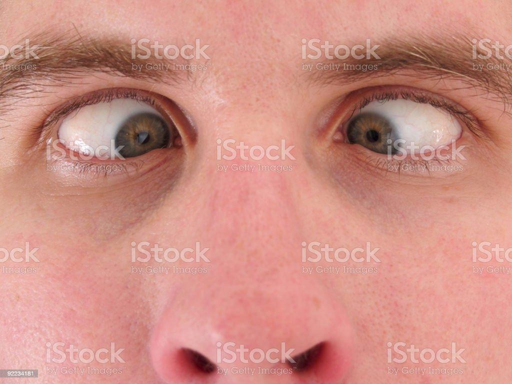 Cross Eyed stock photo
