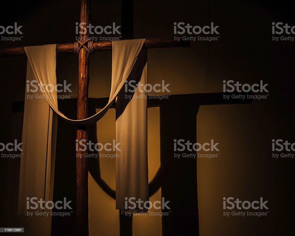 Cross for Background royalty-free stock photo