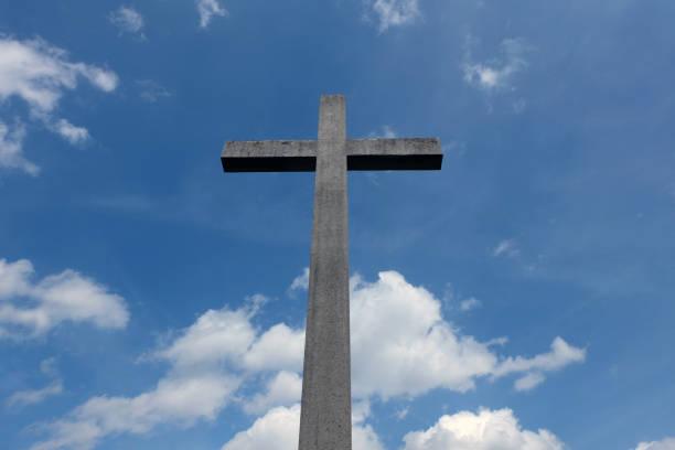 Kreuz hoch im Himmel – Foto