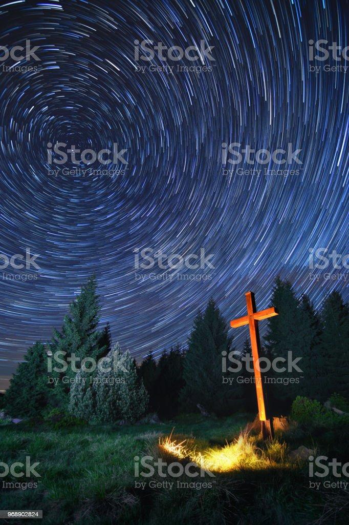 se croisent dans la nuit - Photo