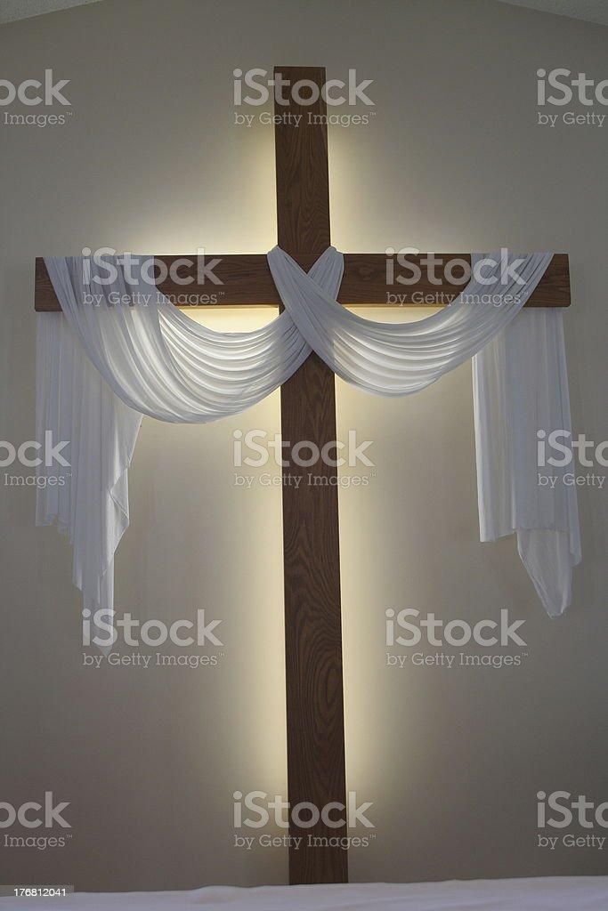 Cross of Jesus 2 stock photo