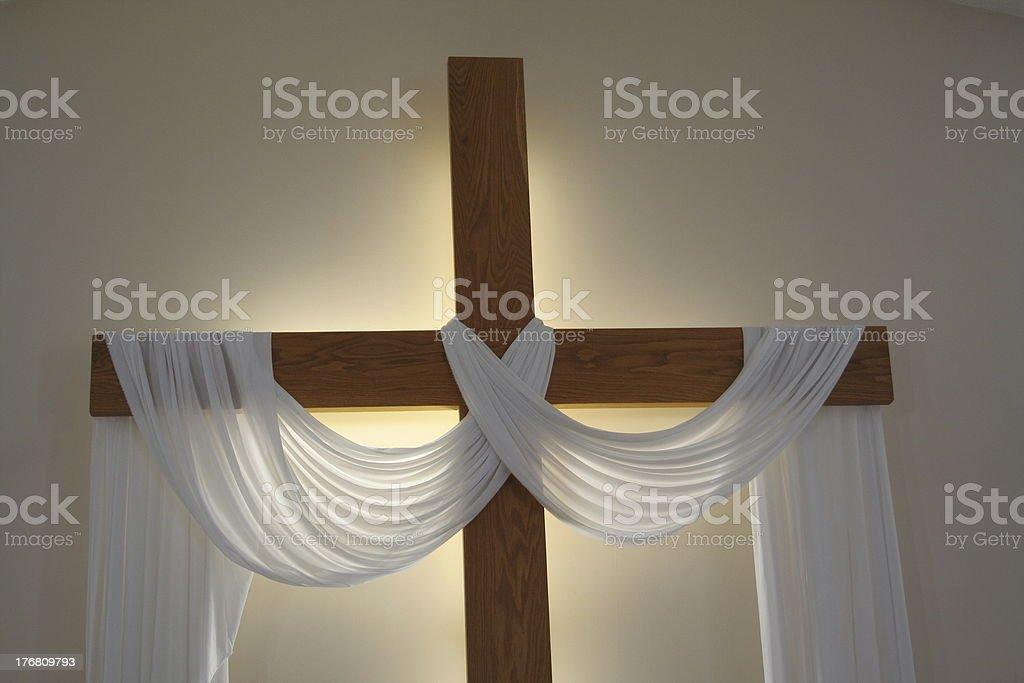 Cross of Jesus stock photo
