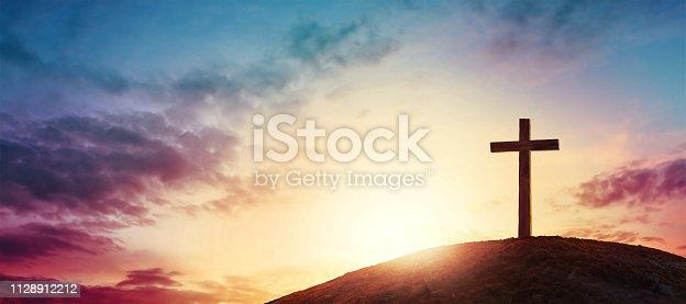 istock cross 1128912212