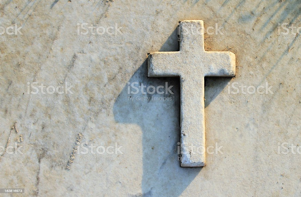 Cross stock photo