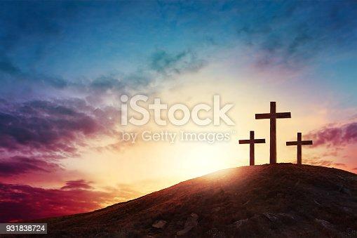 istock cross 931838724