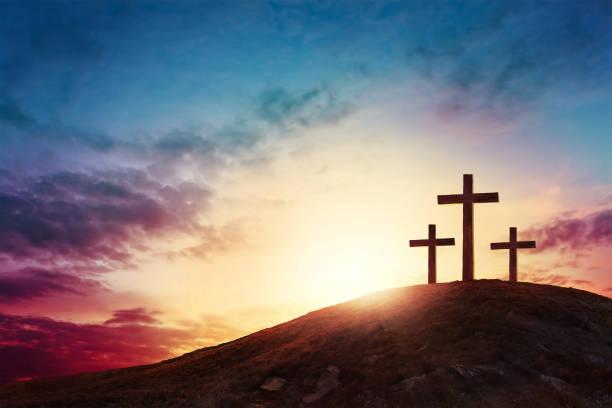 a cross - cristianismo - fotografias e filmes do acervo