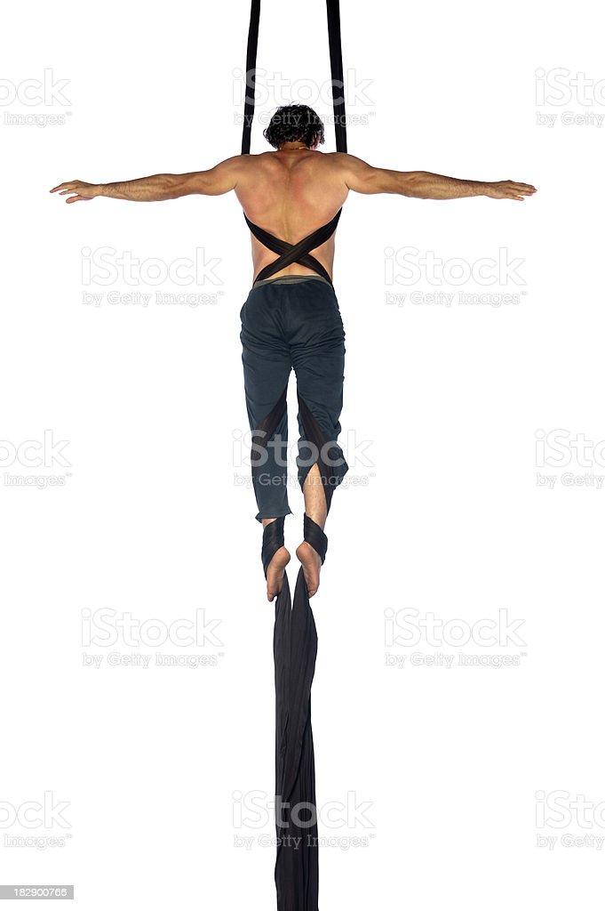 Cruce postura - foto de stock