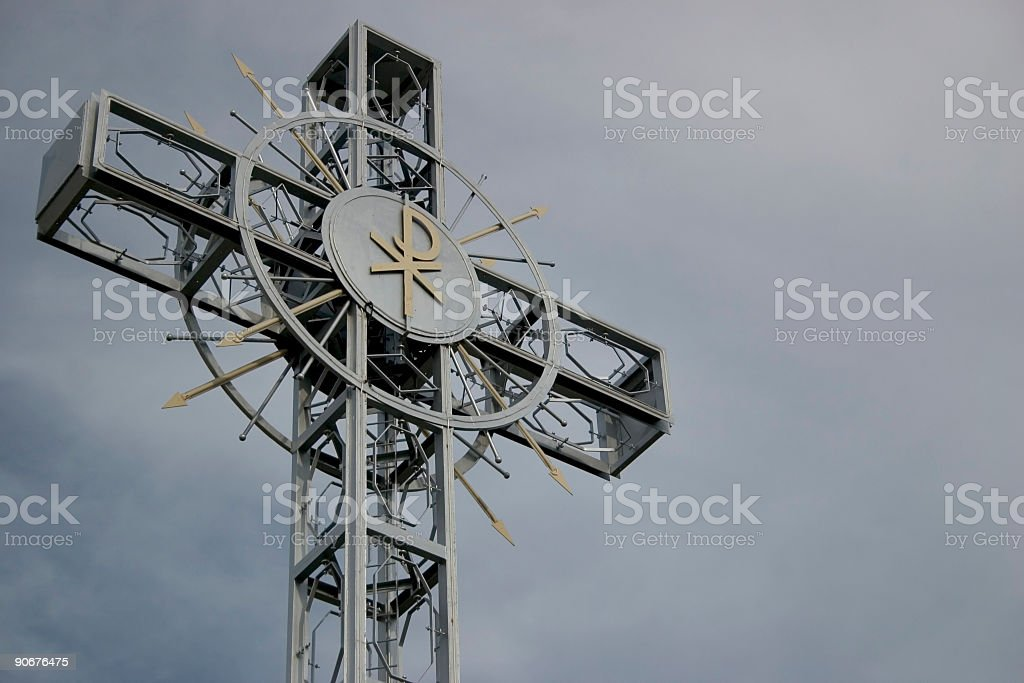 Cross, religion royalty-free stock photo