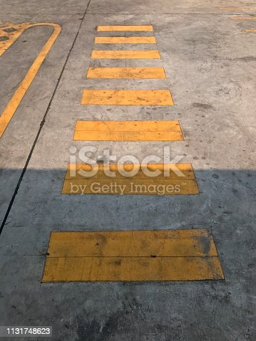 666724598istockphoto Cross road sign in disabled car parking 1131748623