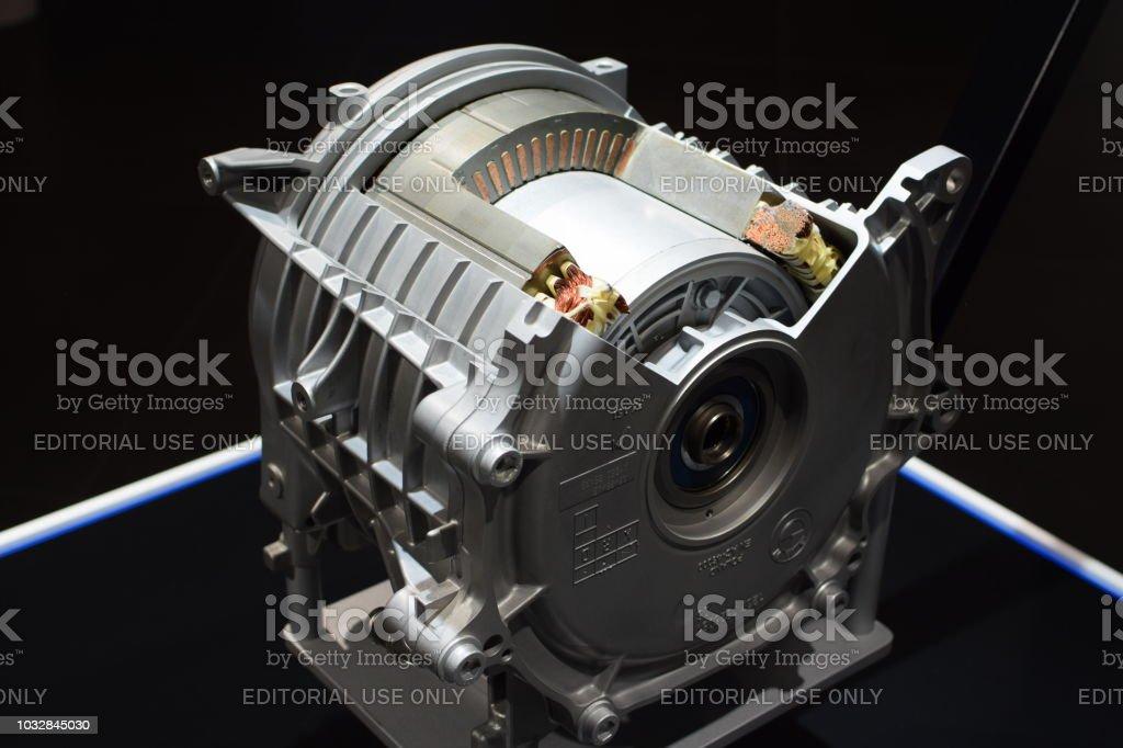 Querschnitt der Elektromotor – Foto