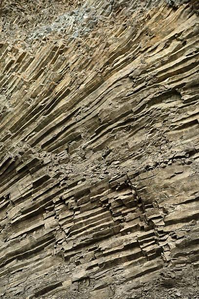 cross section of rock - adomer stok fotoğraflar ve resimler