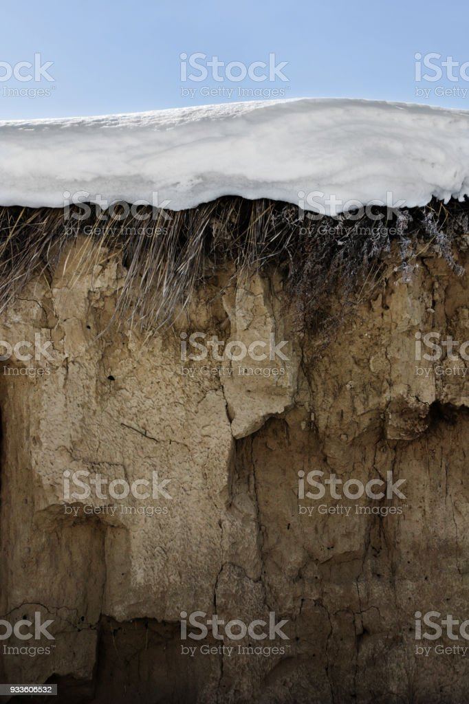 Cross section of the ground stock photo