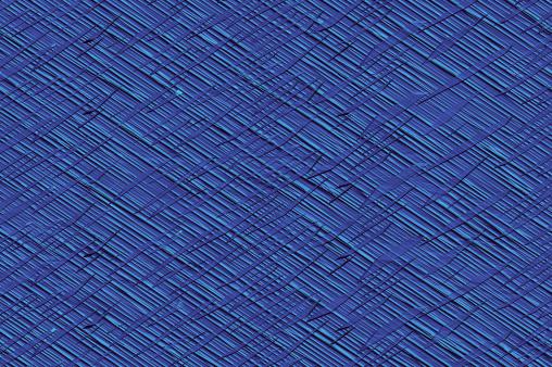 Croce In Tinta Unita Con Texture Di Sfondo A Righe Cobalto