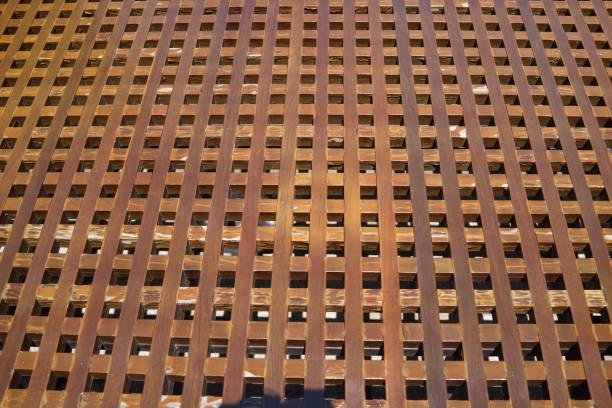 Cruz de rayas - foto de stock