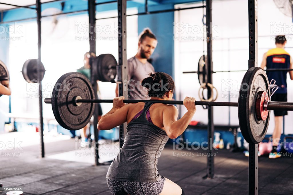 Cross training and weight loss - Royalty-free 20-29 Years Stock Photo