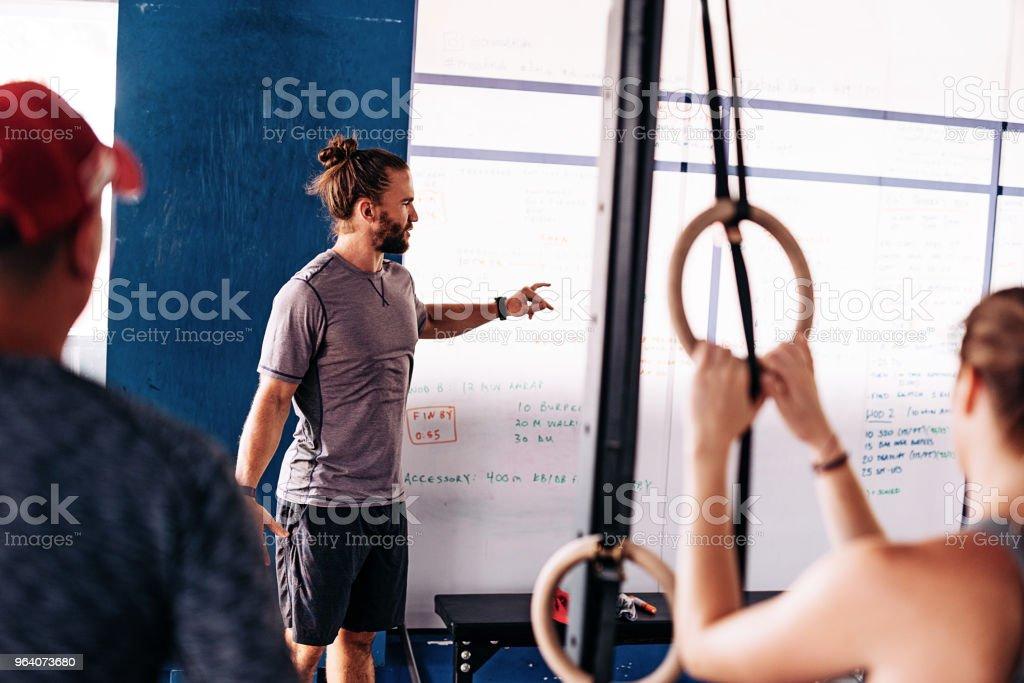 Cross training planning - Royalty-free 20-29 Years Stock Photo