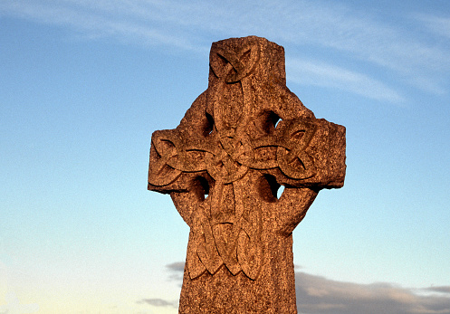 cross with celtic knot