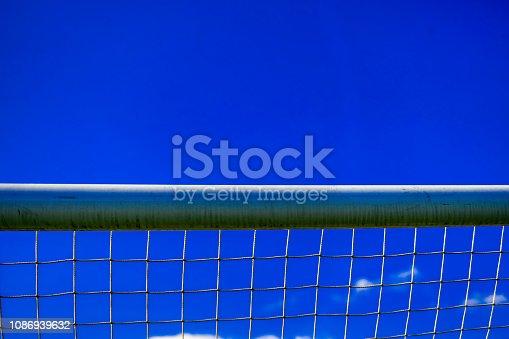Crossbar on a soccer goal