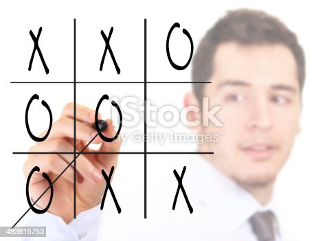 620402800istockphoto Crosses and noughts game 483815753