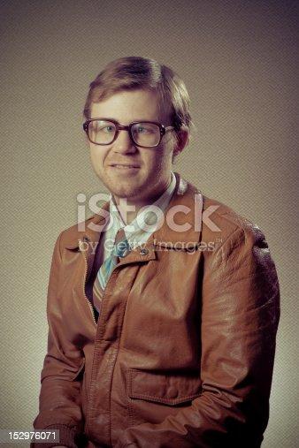 istock Cross-eyed Nerd Man 152976071
