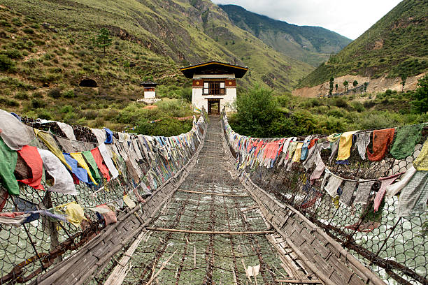 Crossing at Thimpu – Foto