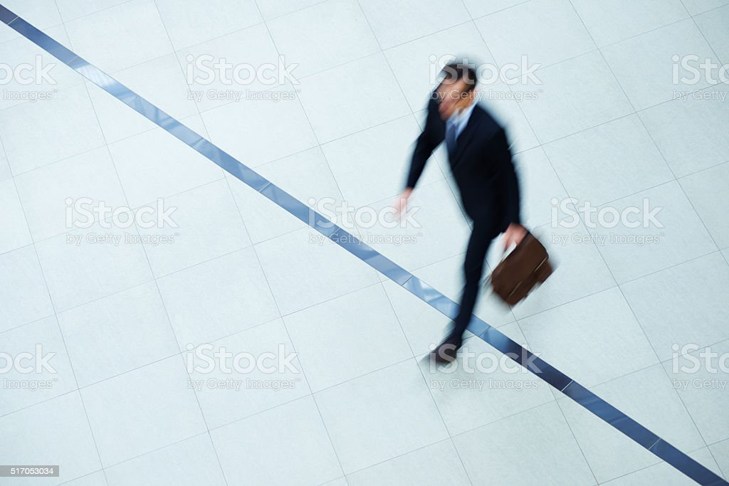 Crossing black line stock photo