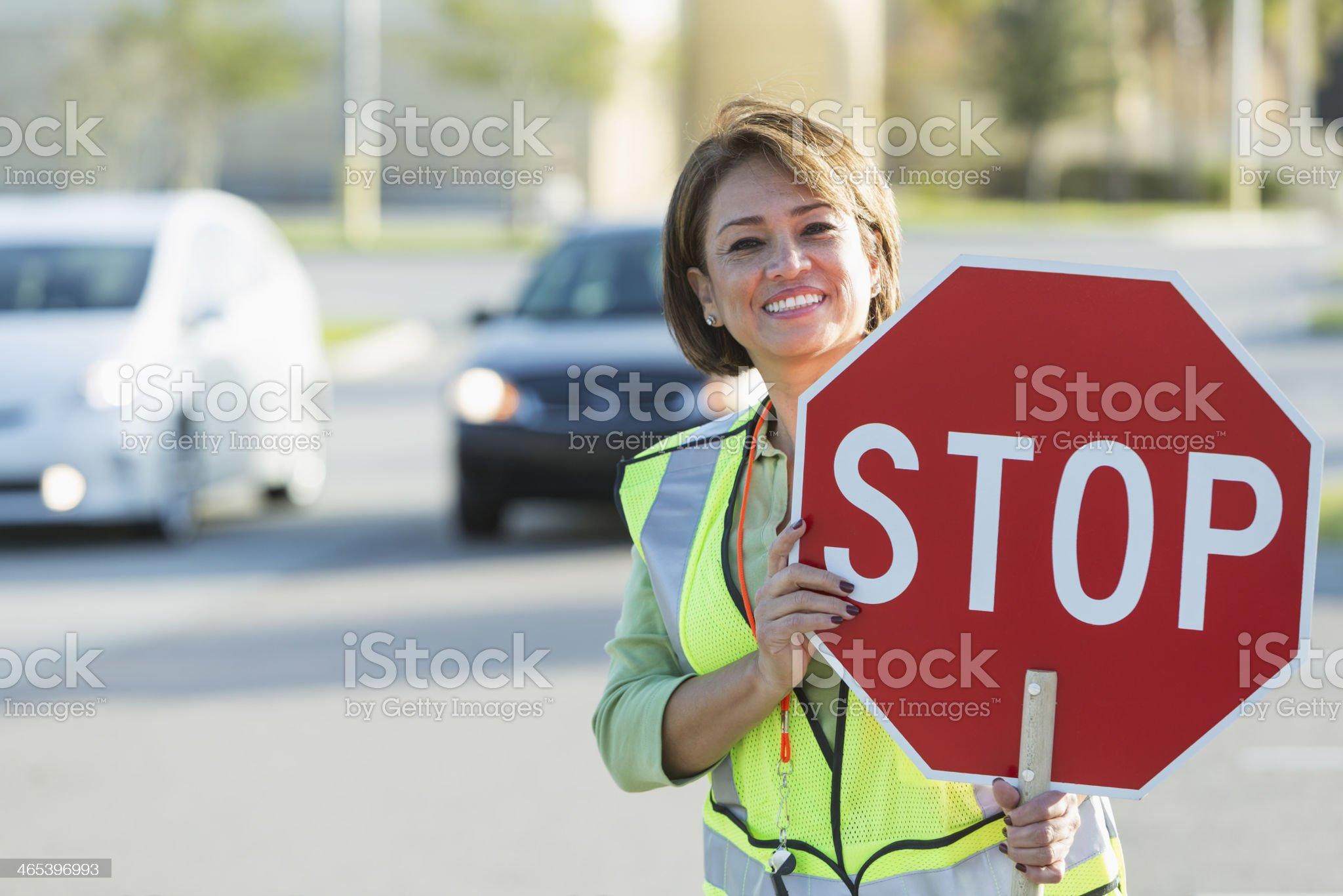 ✓ Crossing guard Stock Photos