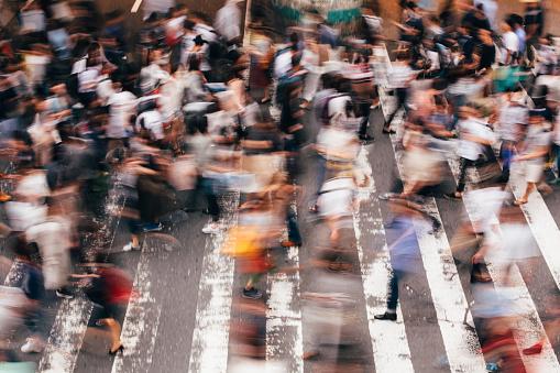 Crossing In Japan Stockfoto und mehr Bilder von Aktivitäten und Sport