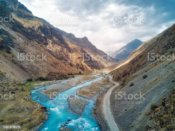 Photo of Crossing Khaburabot Pass on the Pamir Highway, taken in Tajikistan in August 2018 taken in hdr