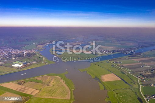 istock Crossing of major river and canal 1300359842