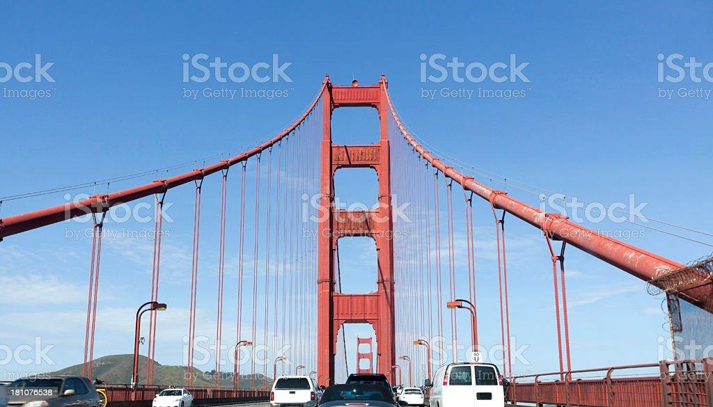 Crossing the Bridge royalty-free stock photo