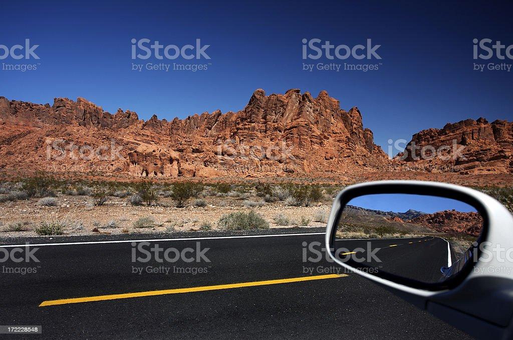 Crossing the Desert royalty-free stock photo