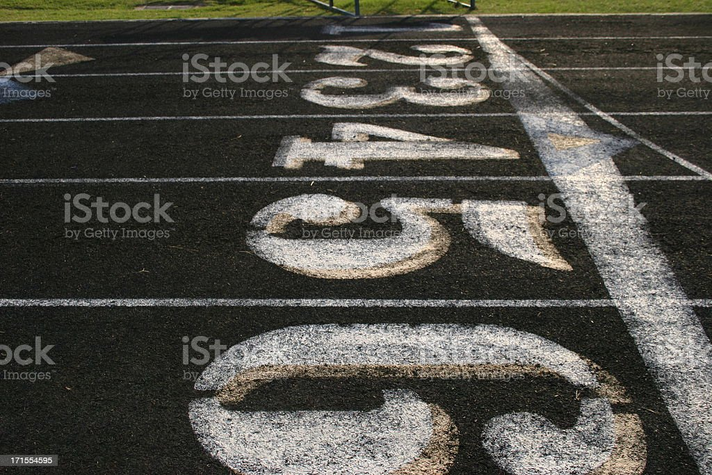 Crossing the Finish Line royalty-free stock photo