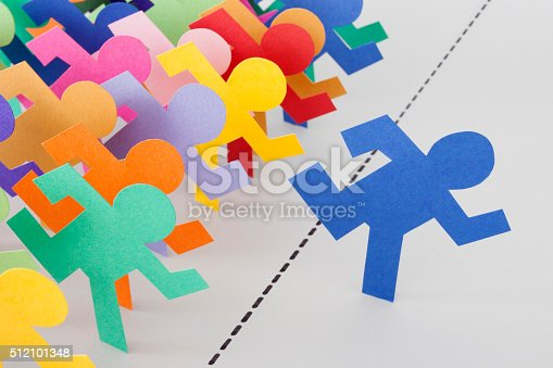 istock Crossing the line 512101348