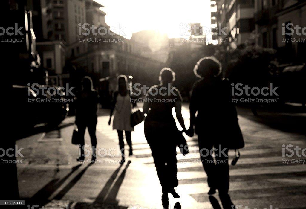 Traverser la rue - Photo