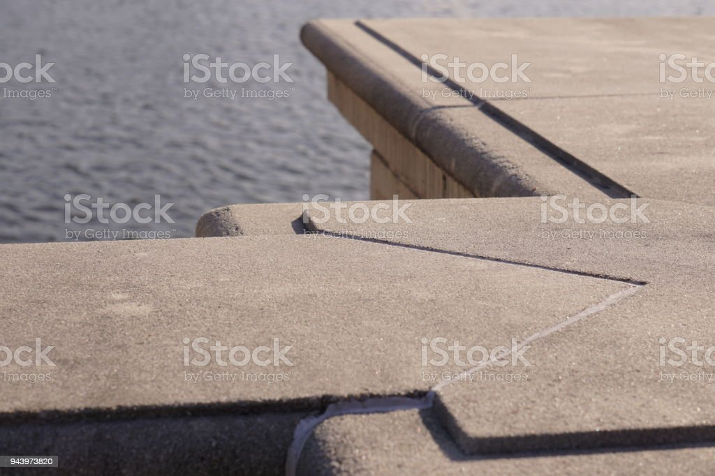 Crossover stone stock photo